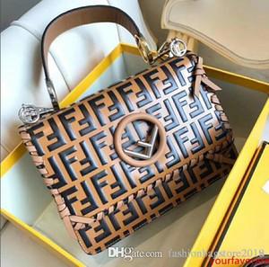 Bolsos de diseño de alta calidad de lujo bolsos de marcas de fábrica famosas del bolso bolsas de las mujeres de cuero de vaca original verdadero de los bolsos de hombro del cuero auténtico