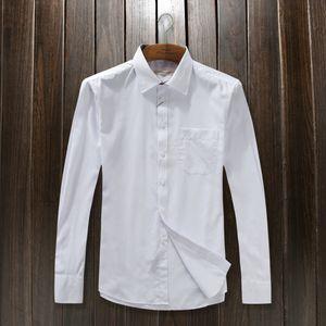Negócios projeto dos retalhos camisa dos homens Casual slim fit camisas masculinas sociais POLO forma da camisa Oxford roupas de marca social, tamanho Big M-XXXL