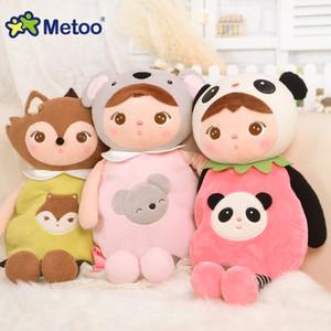 52cm Bolsa Koala bonito panda dos desenhos animados Crianças Plush Backpack Metoo escola Shoulder Crianças saco para Kindergarten Baby Gift MX200327