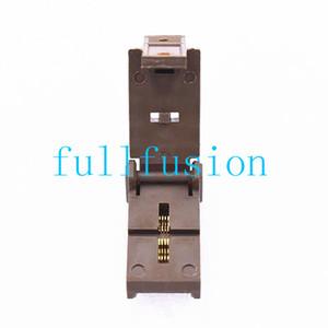 DFN2X2-8L pacchetto IC Test Socket QFN8P passo da 0,5 mm IC dimensioni del corpo 2x2mm Masterizza in Socket