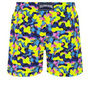 Vilebrequin Плавки HERRINGBONES TURTLES Новые Summer Casual Шорты Мужчины Мода Стиль Мужские шорты бермуды пляжные шорты 016