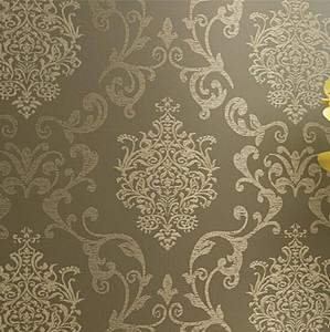 Wholesale-papel de parede. Vliestapete Damast Europäischen Vintage Tapete Wand Abdeckpapier Für Hintergrund strukturierte Tapeten hom