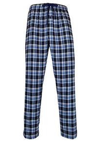남성 격자 무늬 수면 바지 홈 레저 탄성 허리 스트레이트 팬츠 남성 디자이너 느슨한 수면 바지