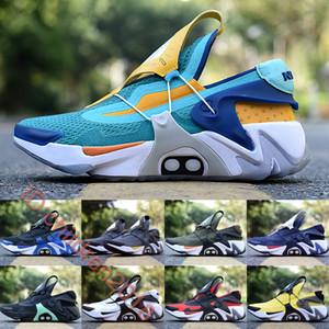 Air Cushion Adaptar Huarache Running Shoes For Men 2020 mais novo Designers Hiper Jade UK Charger Opti amarelo Outdoor Sports Shoes Tamanho 40-45