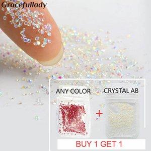1 x Gratis 1 Crystal 1.1mm Pixie-Nagelrhinestone-Kristallglas-Micro Strass für 3D Nails Art Dekorationen Maniküre Werkzeuge Get