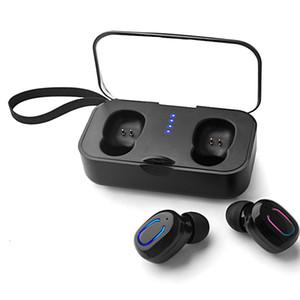 Ti8S TWS Mini Sem Fio 5.0 Bluetooth Earbuds Binaural Chamadas Ambos Side Music Play Fone De Ouvido Esporte Estéreo Fones De Ouvido Estéreo frete grátis