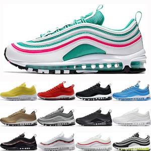 Nike air max 97 airmax 97 Top Hommes Womenn South Beach UNDEFEATED Triple blanc Jayson Tatum Jersey concepteur de chaussures de course Silver Bullet Rainbow Hommes baskets de sport