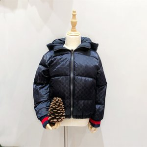 jdQYG Semu2019 double-sided thickened short hooded wear Semu2019 double-sided thickened Down jacket Children's short hooded children's wear