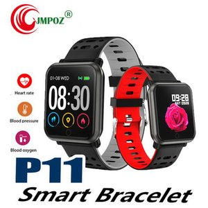 New Smart Watch Bracelet Color Screen IP67 Waterproof Activity Fitness Tracker Heart Rate Monitor Men Women Smartwatch PK Y7