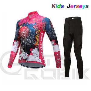 2020-Sommer-lange Hülse, die Jersey Set Mountian Bike Bekleidung Rennrad Bekleidung Ropa Ciclismo Sunscreen Mädchen Zyklus Set