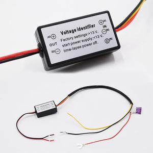 Контроллер Авто светодиодные дневные ходовые огни контроллер реле Harness Dimmer On / Off 12-18V противотуманной фарой