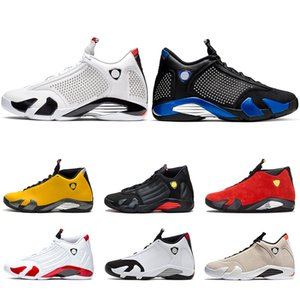 14 s Männer Basketball-Schuhe 14 Candy Cane The Last Shot Wüstensand DMP Schwarz Toe Indiglo Thunder Herren Sportschuhe Turnschuhe Größe 8-13