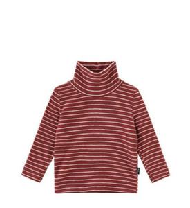 2019 Autumn winter New style children fashion Long sleeve The boy stripe High collar style T-shirt