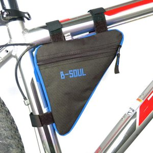 Ciclismo Bag Frente Tubo Quadro Bag chassis de suporte do alforjes à prova d'água bolsas Triângulo bicicleta Mountain Bike Triângulo bicicleta Acesso