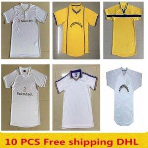 Free shipping 2000 2201 Leeds Retro Soccer jerseys 1997 1998 1999 2000 1978 Vintage classic home HOPKIN HASSELBAINK KEWELL