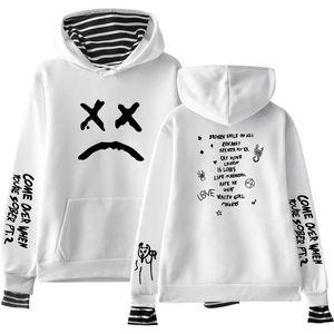 Yeni Lil Peep Hoodie Hellboy Lil. Peep Erkek Kadın Kapşonlu Kazak Erkek Kadın Sudaderas Cry Bebek Hood Hoddies Kazak Aşk SH190831