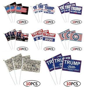 Home Trump hand signal flag trump propaganda banner 2020 election conference trump fans support banner 14 * 21cm21 styles T3I5802