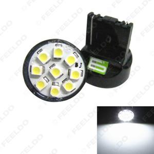 10pcs weiß 12V T20 7440 9SMD 1210 Chip-Auto-Heckblinkerbrems LED-Glühlampe-Lampe # 1743