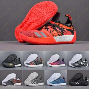 Mens Harden James Vol. 2 fashion designer di lusso scarpe Scarpe da basket MVP Training Sneakers Scarpe da corsa sportive Taglia 40-46