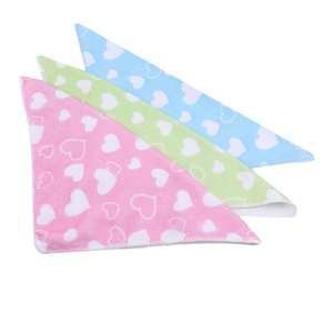 Baby Towel Small Square Saliva Towel Feeding Napkin Soft Cotton Printed Washcloth Face Bath Towel Multifunctioanl 10PCS