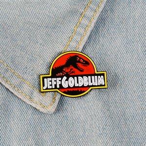 Film Jurassic Enamel Pins Badges De Dinosaure Broches Personnalisées Broches Épinglette Pastel Denim Shirt Sombre Punk Aventure Bijoux Cadeau Fans