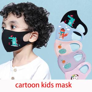 4-12year kids Mouth Mask 3D Cartoon Dinosaur Cute Face Mask Thin Ear Loop Anti Dust Велоспорт моющаяся защитная маска boom2017 Party Masks