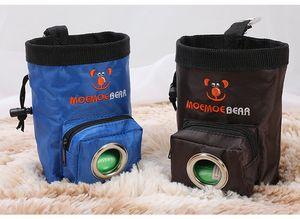 Obediência à prova d 'água Pet Dog Puppy Snack Carrier Mãos Livres Agilidade Isca Food Training Trato Bolsa Bolsa De Trem