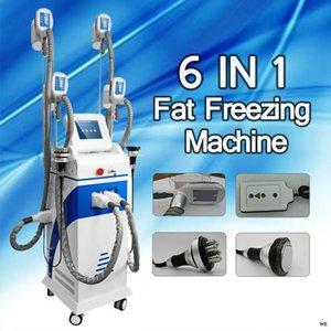 2020 Özel fiyat! Dikey 6 IN 1 çok fonksiyonlu yağ kaybı makinası cryo zayıflama zayıflama makinesi donma şişman yağ donma