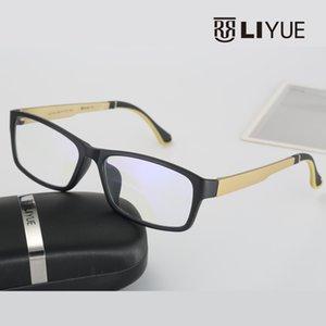Wholesale- Computer-blauer Laser Fatigue Strahlung abschirmende Brillen Brillen Brillen Rahmen Oculos de grau 2126