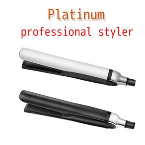 أداة عالية الجودة أسود أبيض 2 الألوان PLATINUM تنعيم الشعر المهنية الطراز الشعر الحديد المسطح مستقيم تصفيف الشعر