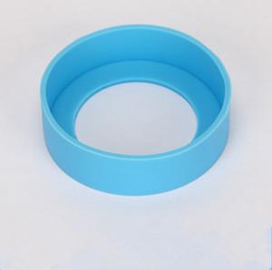 7cm 실리콘 컵 슬리브 병 바닥 보호 커버 고무 받침 진공 절연 스테인레스 스틸 머그컵 물 병 홀더 RRA3079의 경우