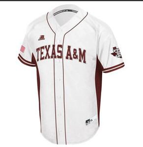 Пользовательские мужские женские молодежные Texas AM Baseball раскрывает наследие красно белая униформа любое имя любое число