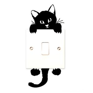 New Cat Wall Other Home Decor Home Dcor Stickers Light Switch Decor Decals Art Mural Baby Nursery Room