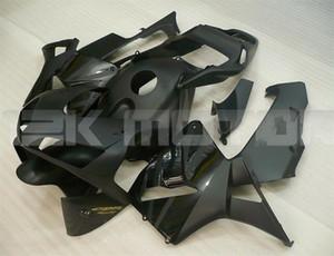 Moldes de Inyección nuevo ABS motocicleta kits carenados aptos para HONDA CBR600RR F5 2003 2004 personalizada 600RR Negro Mate