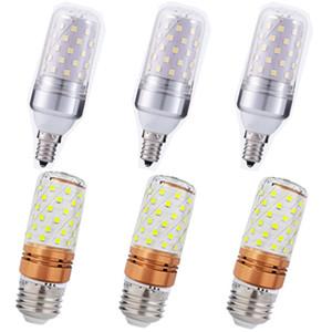 E27 E14 E12 LED 옥수수 램프 높은 전력 12W 16W SMD2835 캔들 전구 샹들리에 캔들 LED 조명에 대한 홈 장식