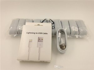 1M 3FT 8 Pin to USB Cable Sync Data Line Charger Adapter Cord with Retail Box For iPhone7 ipad i 5 6 7 8 X i6