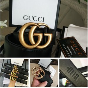 Luxury Belts Men Designer s Belts For Women Button GG Wide Gold Button And Pearl Gold Buckle Designers Belt.