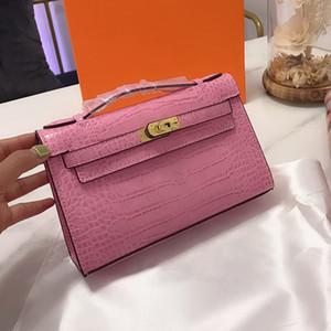 Женщины сцепление кошелек сумка Аллигатор Конверт сумка сумка Платиновой сумка монеты кошелек кошелек из натуральной кожи Сумка Кошелек