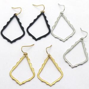 Kendra Style Scott Hohlwassertropfen Rahmen Ohrringe arbeiten Ohrringe für Frauen-Partei-Geschenk