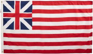 3x5 Grand Union Flag 150x90cm Banner promocional 68D Serigrafía, 90% de purga, arandelas de latón, envío libre