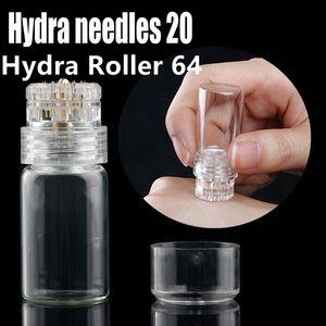 Hydra إبرة 20 إبرة مايكرو 0.25 / 0.5 / 0.6 / 1 / 1.5 ملليمتر للعناية بالبشرة المنزلية
