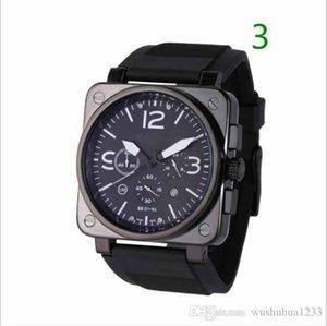 new Quartz watch men BR bell watch stainless steel ross watches wristwatch br02
