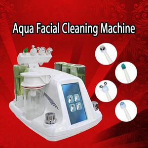 Professional Hydro microdermabrasion hydra visage Cleaner Soins de la peau aqua eau Peeling Spa dermabrasion microcourants ultrasons dermabrasion