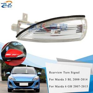 ZUK LED-Auto-Rück Tür Spiegel Wiederholblinkleuchte Licht für Mazda 3 BL 2008-2014 Für Mazda 6 GH 2007-2015 Blinker Indicator