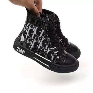 menino preto do esporte da sapatilha D carta sapatos pouco mais barato sapato menina 2020 novo ginásio miúdo da escola atlético sapato eu menino 26-35 juventude sapato exterior criança