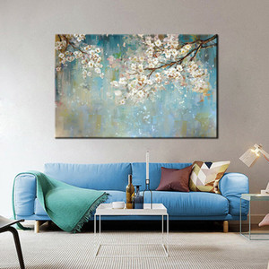 -.52-подставил Unframed 0044 # абстрактных цветок дерев Home Decor расписанная HD Печать Картина масло на холст Wall Art Холст Pictures