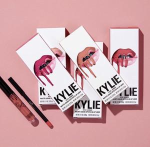 2020 Kylie Lipkit Liquid Матовый блеск для губ Косметика Столкнувшись Макияж 41 цвета губ набор Макияж Бесплатная доставка