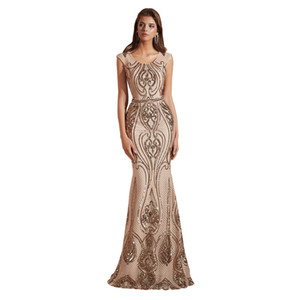 Sexy Long Mermaid Prom Dresses 2019 New Sleeveless Illusion Floor Length 4 Color Illusion Formal Evening Dress Party Gowns