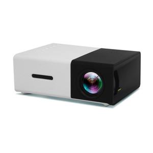 Portátil Projector YG300 Mini Digital 4K Projetor Home LCD HDMI USB 800 ligação Lumen Teatro Educação Infantil Projetor Retail