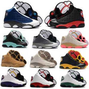 13 13s Basketball Chaussures Hommes Chaussures Femmes Jumpman Nouvel an chinois Bred Ray Allen PE OG Flint Green Island Lakeres Chicago cerise Chaussures